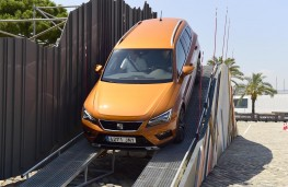 SEAT Ateca, off road, slope