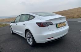 Tesla Model 3, 2021, rear