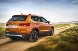 SEAT Ateca, rear, action