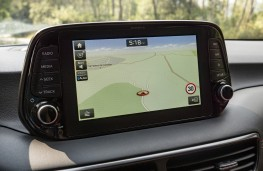 Hyundai Tucson hybrid, 2018, display screen