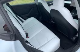 Tesla Model 3, 2021, rear seats