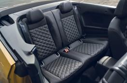 Volkswagen T-Roc Cabriolet, 2021, rear seats
