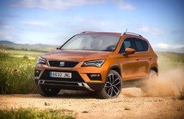 SEAT Ateca, side, action, off road