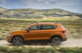 SEAT Ateca, side, action