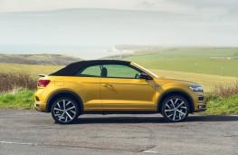 Volkswagen T-Roc Cabriolet, 2021, side, roof up
