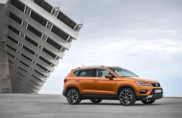 SEAT Ateca, side, static
