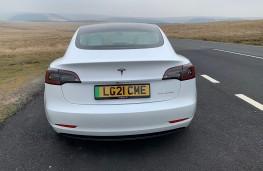 Tesla Model 3, 2021, tail