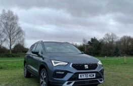 SEAT Ateca, 2020, front, upright