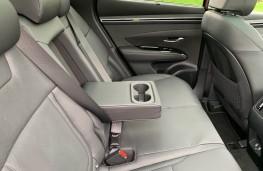 Hyundai Tucson, 2021, rear seats