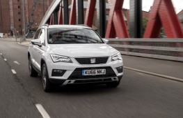 SEAT Ateca SE 1.0 TSI, front, action