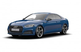Audi A5 Coupe Black Edition front