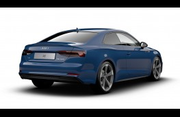 Audi A5 Coupe Black Edition rear