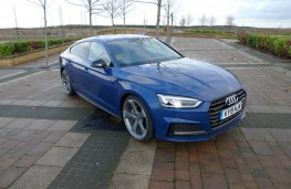 Audi A5 Sportback, front static 2