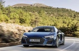 Audi R8 Coupe 2019 front action