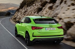 Audi RS Q3 Sportback rear action