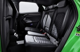 Audi RS Q3 Sportback rear seats