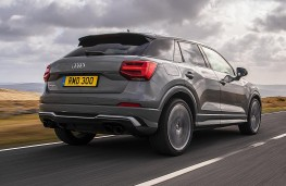 Audi SQ2 rear action