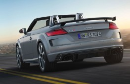 Audi TT RS Roadster rear action