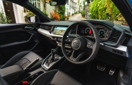 Audi A1 Sportback, dashboard
