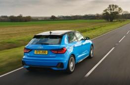 Audi A1 Sportback, rear action