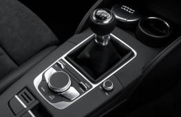 Audi A3 Sportback, console detail