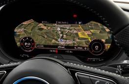 Audi A3 Sportback, dash detail