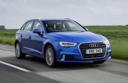 Audi A3 Sportback, front action