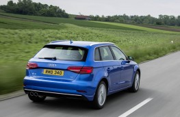 Audi A3 Sportback, rear action
