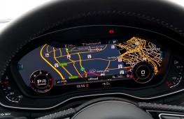Audi A4, dash detail