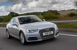 Audi A4, front action