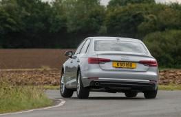Audi A4, rear action 2