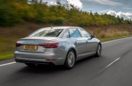 Audi A4, rear action