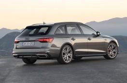 Audi A4 Avant 2020 rear