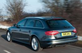 Audi A4 Avant, rear, action
