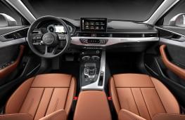 Audi A4 saloon 2020 cockpit