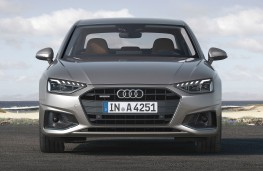 Audi A4 saloon 2020 head on