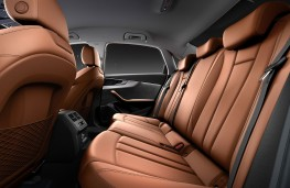 Audi A4 saloon 2020 rear seats