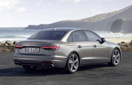 Audi A4 saloon 2020 rear