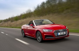 Audi A5 Cabriolet Front Action