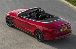 Audi A5 Cabriolet, open above