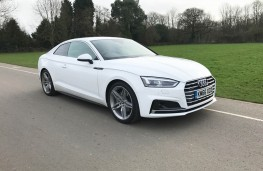 Audi A5 Coupe, front