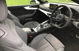 Audi A5 Coupe, interior