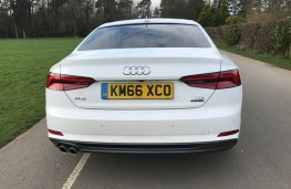 Audi A5 Coupe, rear