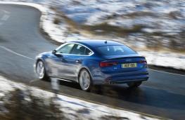 Audi A5 Sportback, action rear