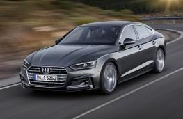 Audi A5 Sportback 2017 front  action
