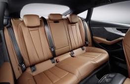 Audi A5 Sportback 2017 rear seats