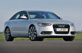 Audi A6, front static 2