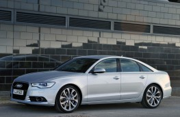 Audi A6, front static 3