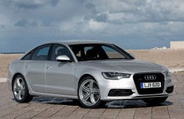 Audi A6, front static