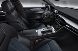 Audi A6 allroad quattro front seats